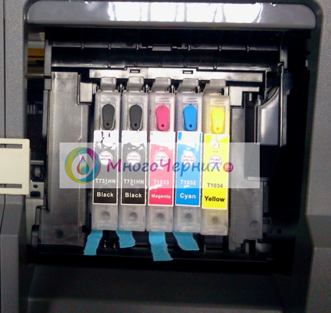 Почему картридж не видит принтер