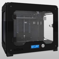 3D принтер bq Witbox черный / белый / желтый с одним экструдером