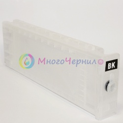 Перезаправляемый картридж (ПЗК/ДЗК) для Epson SureColor SC-T3200, SC-T3000, SC-T5200, SC-T7000, SC-T7200, SC-T5000, Photo Black, с одноразовым чипом (сменным), 700 мл, 1 штука