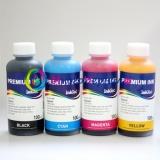 Чернила для Epson Stylus C45, C43, C42, C41, C44, C46 InkTec (E0005) водные, комплект 4 х 100мл