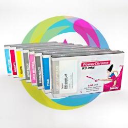 Комплект картриджей для Epson Stylus Pro 9880, 7880, PX-7550, 9550, с чипами (T6031-T6039), 220 мл, совместимые InkTec, 8 шт