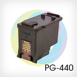 Перезаправляемый картридж BURSTEN King Canon PG-440 черный для MG3140, MX514, MG3640, MG4140, MG3540, MG2240, MG3240, MG4240, MG2140, MX3,74, MX434, MX474 Black (для заправки PUSH-контейнерами), заправленный