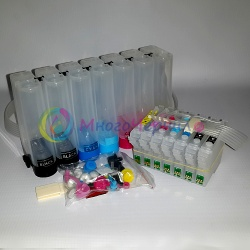 СНПЧ для Epson Stylus Photo 950 (7 цветов, T0331-T0336), с чипами