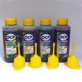 Чернила OCP для заправки HP 920, 920XL для HP OfficeJet 7000, 6000, 7500a, 6500, 6500a, пигментные + водные, 4 по 100 мл