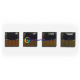 Чипы для перезаправляемых картриджей и СНПЧ с картриджами HP 364 4 штуки