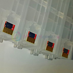 Чипы для HP OfficeJet PRO x451dw, x576dw, x476dw, x551dw, x476dn, x451dn (под оригиналы 970/971), комплект 4 шт.