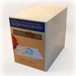 Фотобумага глянцевая 10x15, плотность 230 г/м2, 500 листов (revcol)