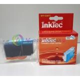 Картридж для Canon PIXMA iP6700D, Pro9000, MP970, iP6600D, MP950, MP960, совместимый InkTec, светло-синий Light Photo Cyan,  BPI-508PC (CLI-8PС)
