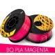 PLA пластик маджента (Magenta) для 3D-принтеров на катушке (фирменный BQ, диаметр нити 1,75 мм, 1 кг)