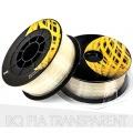 PLA пластик прозрачный (Transparent) для 3D-принтеров на катушке (фирменный BQ, диаметр нити 1,75 мм, 1 кг)