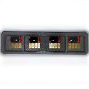 Чипы для картриджей HP Officejet OJ Pro 8100, 8600, 8610, 8620, 8630, 8640, 8660, 8615, 8616, 8625, 251dw, 276dw (под HP 951/950), комплект 4 шт.