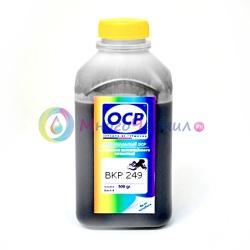 Чернила OCP для картриджей HP 10, 21, 27, 56, 121, 129, 130, 131, 132, 140, 178, 650, 655, 953 (BKP 249), чёрные Black, пигментные, 500 мл