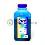 Чернила OCP CPL 118 для Epson Stylus Photo 2100 (для картриджей T0345), светло-голубые Light Cyan, пигментные, 500 мл