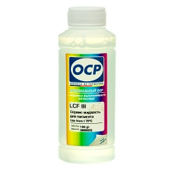 Жидкость OCP LCF III для отмачивания пигмента для HP и Canon, 100 мл
