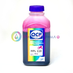 Чернила OCP MPL 118 для Epson Stylus Photo 2100 (для картриджей T0346), светло-пурпурные Light Magenta, пигментные 500 мл