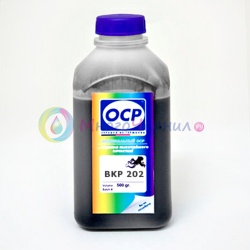 Чернила фото черные (Photo Black) OCP для Epson Stylus Pro R2400, 4800, 4000, 7600, 7800, 7500, 7880, 9600, 9800, 9500, 10600, 3800, Photo Black, 500 мл (BKP 202)