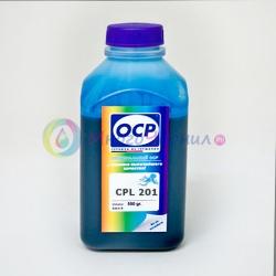 Чернила светло-голубые (Light Cyan) OCP для Epson Stylus Pro R2400, 4800, 4000, 7600, 7800, 7500,  7880, 9600, 9800, 9500, 10600, 3800, Light Cyan, 500 мл (CPL 201)