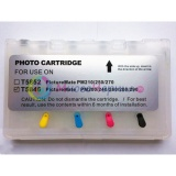 Перезаправляемые картриджи (ПЗК) для Epson PictureMate PM290, PM200, PM240, PM260, PM280 (T5846), с чипами (4 цвета)