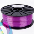 PLA пластик прозрачно-пурпурный (transparent-purple) для 3D-принтеров Makerbot, Wanhao, Cube, UP! mini, UP Plus, Picaso 3D Builder/Designer, Witbox и др., диаметр нити 1,75 мм, 1 кг