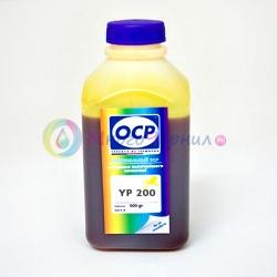 Чернила желтые (Yellow) OCP для Epson Stylus Pro R2400, 4800, 4000, 7600, 7800, 7500,  7880, 9600, 9800, 9500, 10600, 3800, Yellow, 500 мл (YP 200)