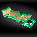 Чипы для ПЗК и СНПЧ для Epson XP-510, XP-520, XP-600, XP-605, XP-615, XP-620, XP-625, XP-700, XP-720, XP-800, XP-610, XP-710, XP-820 (T2601, T2611-T2614 / T2621, T2631-T2634), автоматически обнуляемые, 5 шт.