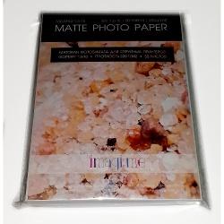 Фотобумага матовая односторонняя, 13 x 18 см, 220 г/м2, 50 листов (imagi.me)