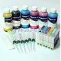 Набор перезаправляемых картриджей с чернилами для Epson Stylus Photo R300, R220, R200, RX500, RX620, R320, R340, RX600, RX640 (T0481-T0486)