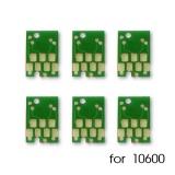 Чипы для ПЗК и СНПЧ на Epson Stylus Pro 10600, комплект 7 шт (6 цветов + Matte Black)