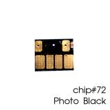 Чип для картриджей (ПЗК/ДЗК) HP 72 C9370A Photo Black для DesignJet T790, T795, T610, T2300, T770, T1300, T1200, T1120, T620, T1100, фото черный