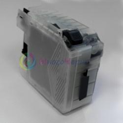 Картридж для Brother DCP-J100, DCP-J105, MFC-J200, черный B-LC525BK Black (уменьшенный LC529XLBK), с чернилами, перезаправляемый, неоригинальный imagi.me