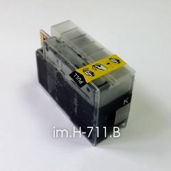 Картридж для HP Designjet T520 и T120, черный (совм. HP 711, 711XL Black), емкость 50 мл, неоригинальный im.H-711.B imagi.me