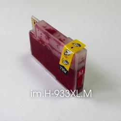 Картридж для HP Officejet OJ 6700, 6100, 6600, 7110, 7610, 7612 пурпурный im.H-933XL.C Magenta (совм. HP 933, HP 933XL), увеличенный объем 13 мл., неоригинальный imagi.me