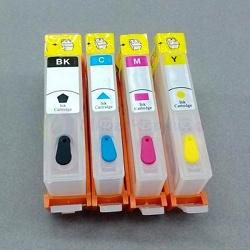 Перезаправляемые картриджи (ПЗК) для HP OfficeJet Pro 6230, 6830, 6812, 6815, 6820, 6835 (совм. 934, 935), с чипами, комплект 4 цвета