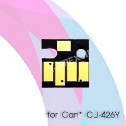 Чип для Canon PIXMA MG5340, MG5140, iP4940, iX6540, iP4840, MG5240, MX884, MX894, MX714, MG6240, MG6140, MG8240, MG8140, Yellow CLI-426Y (желтый), авто обнуляемый для картриджей, ПЗК, СНПЧ