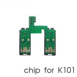 Чип для СНПЧ к Epson WorkForce K101, K201, K301 (2 x T1361), с кнопкой обнуления (планка чипов)