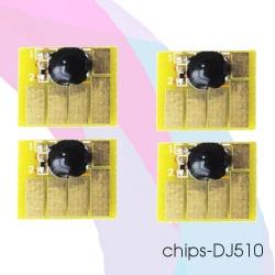 Чипы для картриджей HP Designjet 510 (совм. HP 82), комплект 4 цвета по цене 470 руб.