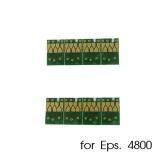 Чипы для картриджей, ПЗК и СНПЧ для Epson Stylus Pro 4800 (T5651-T5659 / T5641-T5649), комплект 8 цветов
