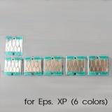 Чипы для картриджей, ПЗК и СНПЧ для Epson Expression Photo XP-55, XP-960, XP-970, XP-860, XP-750, XP-760, XP-950, XP-850, 6 цветов, авто (под оригиналы T24)