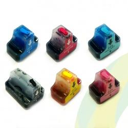 Картриджи HP177 для HP Photosmart C5183, C6283, D7163, 8253, D7263, C7283, 3213, D7463, 3313, D7363, C6183, C8183, C7183, совместимые, комплект 6 шт