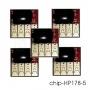 Чипы на 178 картриджи для HP Photosmart C5383, D5463, C310B, C6383, C309H, C410C, B8553, CN245C, C5380, CN216C, CN255C, D5460, C309A, 7510 e-All-in-One (C311b), 5 шт