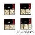 Чипы для перезаправляемых картриджей (ПЗК) и СНПЧ для HP Officejet Pro 6230, 6830, 6815, 6835 (HP 934/935), 4 шт.