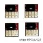 Чипы для перезаправляемых картриджей (ПЗК) и СНПЧ для HP Officejet Pro 6230, 6830, 6815, 6835 (под HP 934/935), 4 цвета