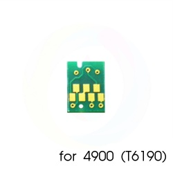 Чип для памперса к Epson B-510DN, B-300, B-310N, B-500DN, Stylus Pro 4900, SureColor SC-P5000, SC-P5000V (для емкости с отработанными чернилами T6190 / C13T619000), не обнуляемый