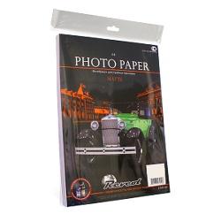 Фотобумага матовая 10x15, плотность 190 г/м2, 50 листов (revcol)