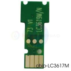 Чип для LC3617M, LC3619XLM Magenta для картриджей Brother MFC-J3930DW, MFC-J3530DW, одноразовый, совместимый, для пурпурных чернильниц