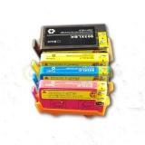 Комплект совместимых картриджей 903XL для HP OfficeJet 6950, Pro 6960, 6970 (T6M15AE, T6M03AE, T6M07AE, T6M11AE) неоригинальные, 4 цвета