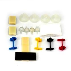 Набор запасных частей (комплектующих) для СНПЧ, 4 цвета