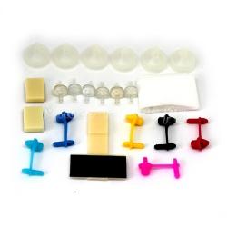 Набор запасных частей (комплектующих) для СНПЧ, 6 цветов