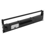 Риббон-картридж для матричных принтеров Epson LX-1050, LX-1170, FX-1170, FX-1000, FX-1050, LX-1170 II, FX-1180, FX-100, MX-100, FX-105, FX-100+, FX-185, FX-286e, FX-1180+ (совм. S015020 / #8755), чёрный Black, 17,7 метра, совместимый, неоригинальный