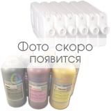 Набор перезаправляемых картриджей (ПЗК/ДЗК) с чернилами для Canon imagePROGRAF iPF8400SE (PFI-306, PFI-706), пигментные чернила DCTec 6x1 литр, 6 картриджей